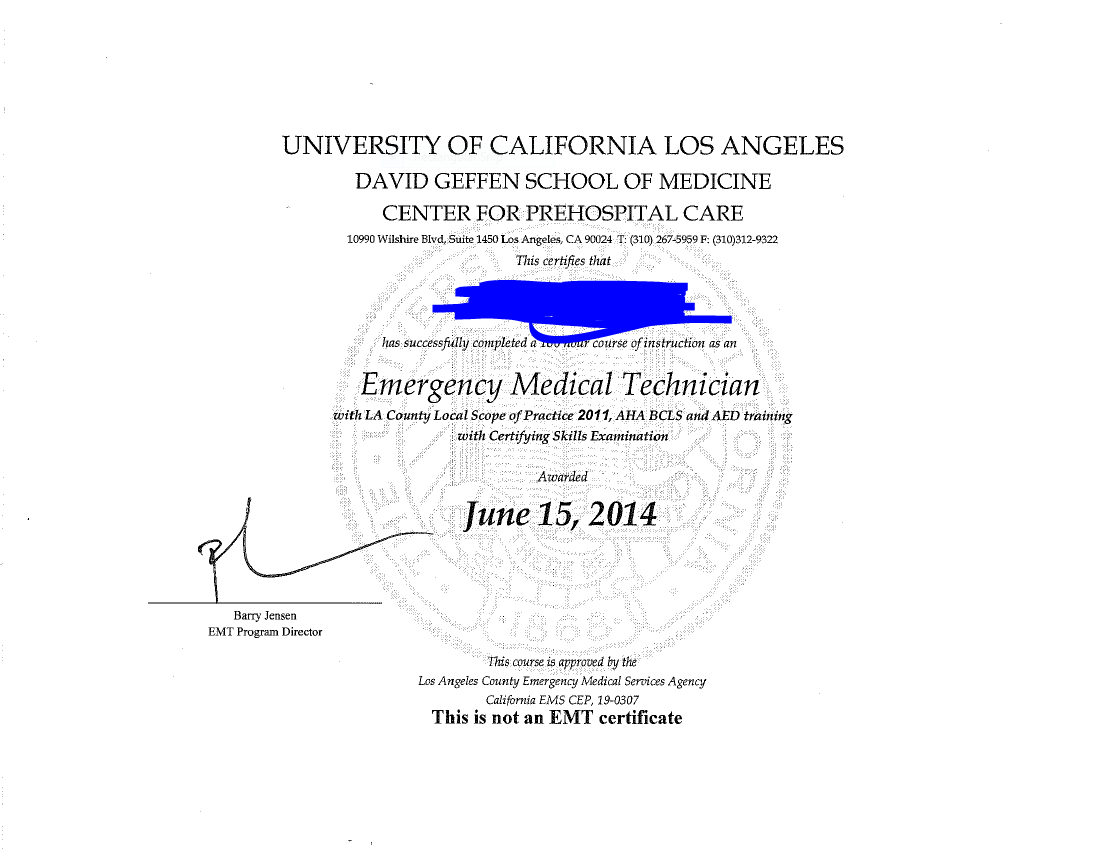 Online/UCLA LA Scope of Practice course | EMTLife