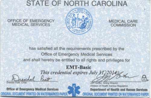 What does your EMT/Medic card look like? | Page 3 | EMTLIFE